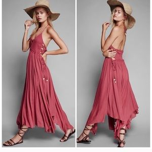 Free people coconuts all day maxi dress